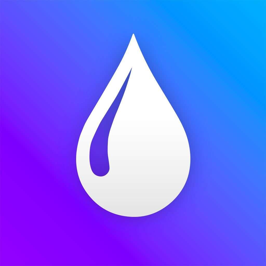 Blur photo editor app Logo