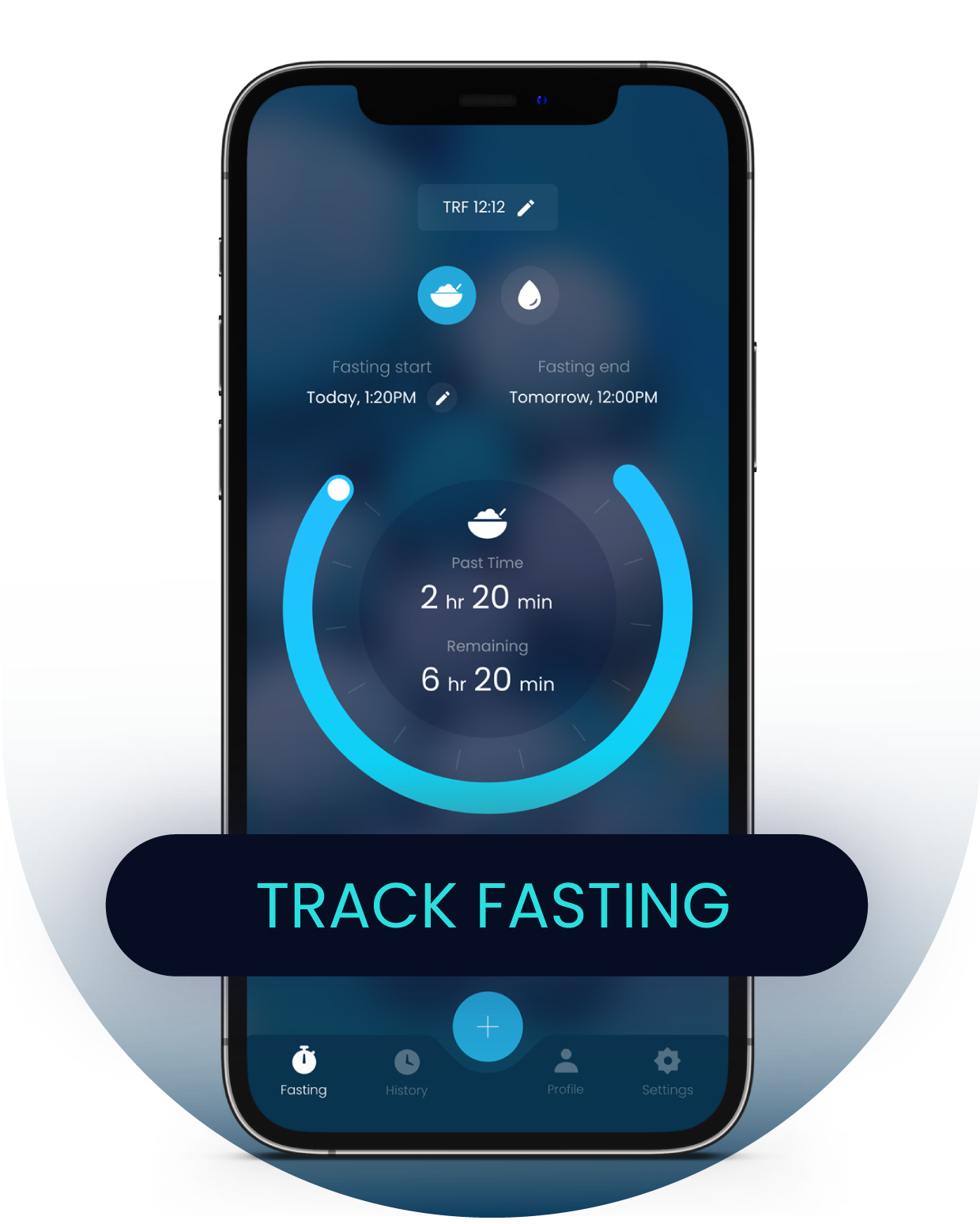 Fasting Result Tracking Calculator for iPhone Fasting App