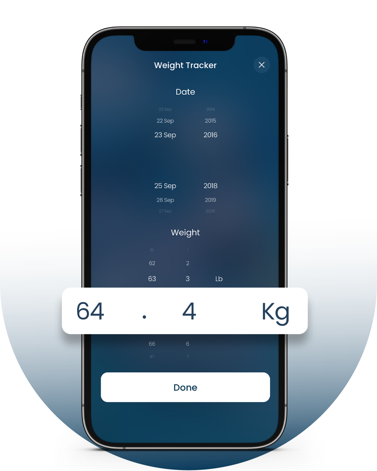 Ultimate Bodyweight Manager with Fasting App for iPhone