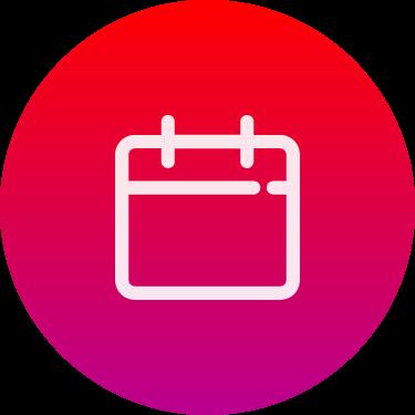 calendar widget for iPhone
