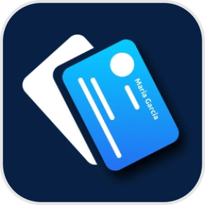Business card reader for iPhone