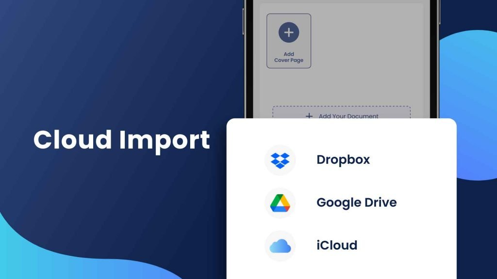 Cloud Fax service – import documents