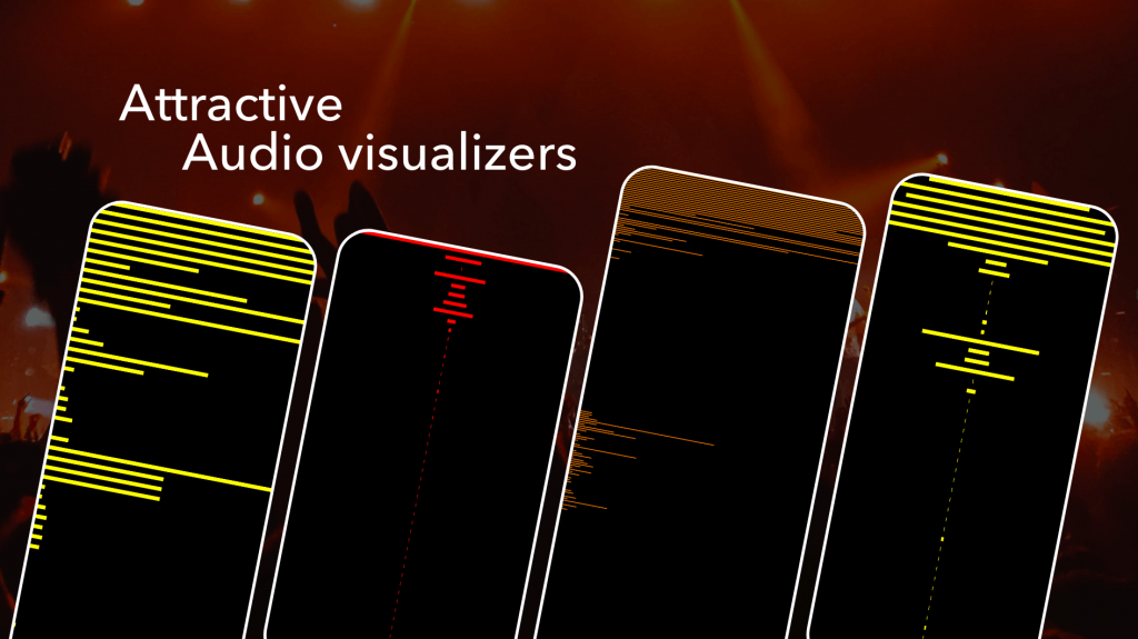 amplify sound with audio visualizer