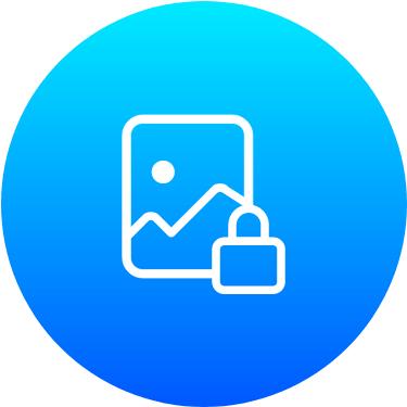 lock images on iphone using photo vault app