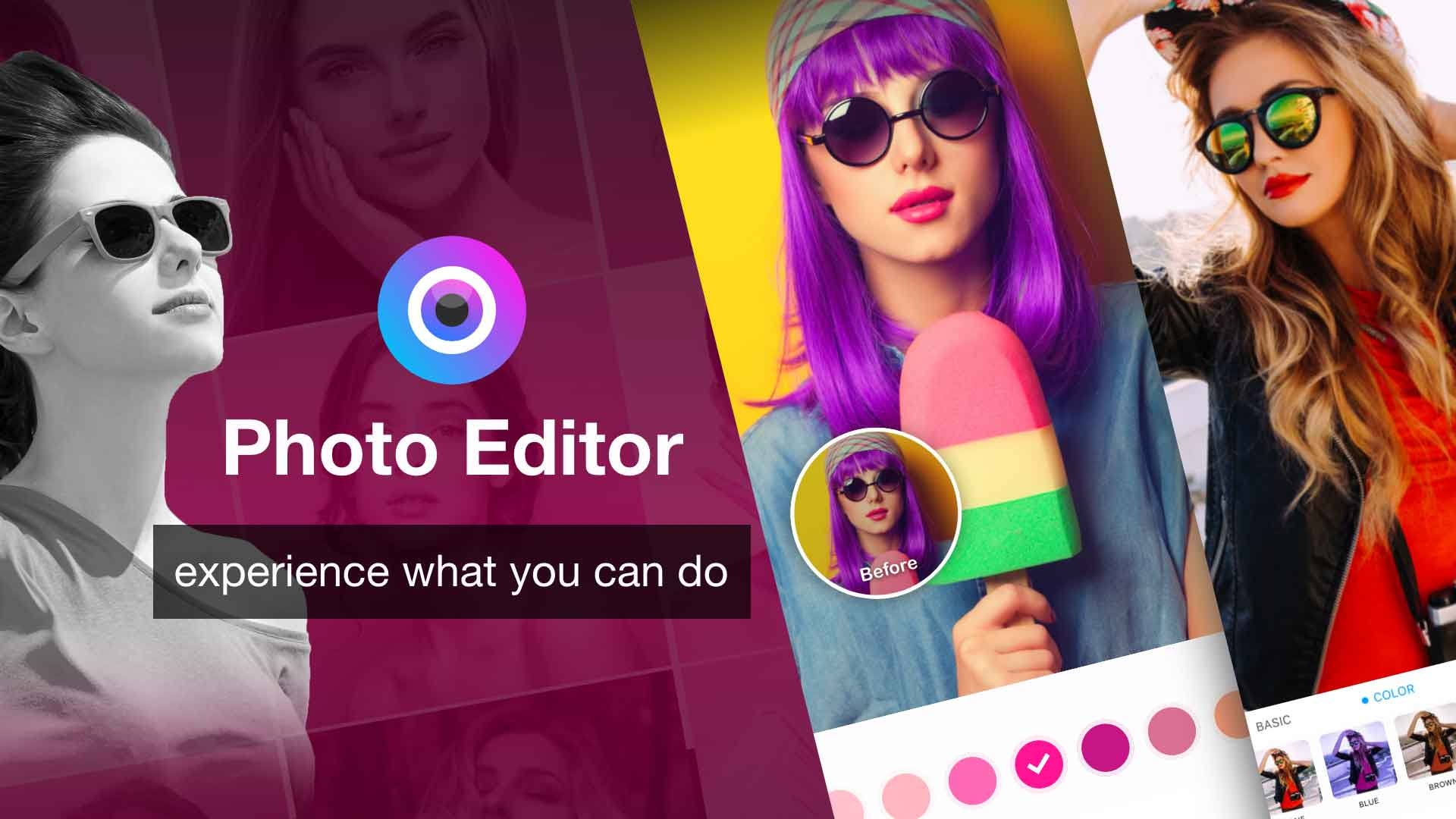 color photo editor for iPhone