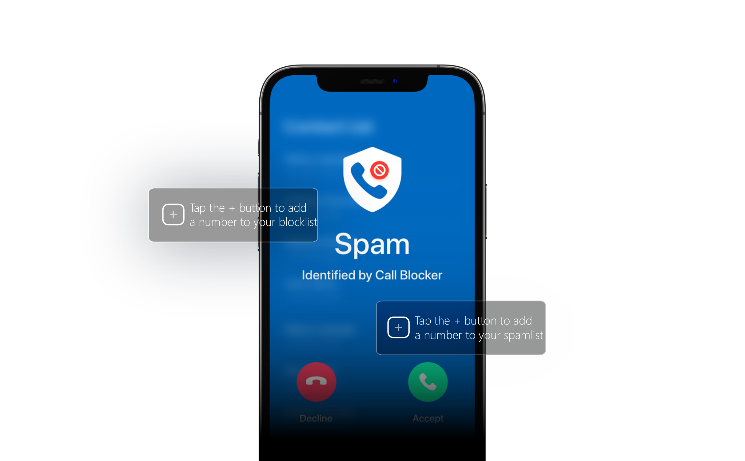 Spam call blocker for iPhone
