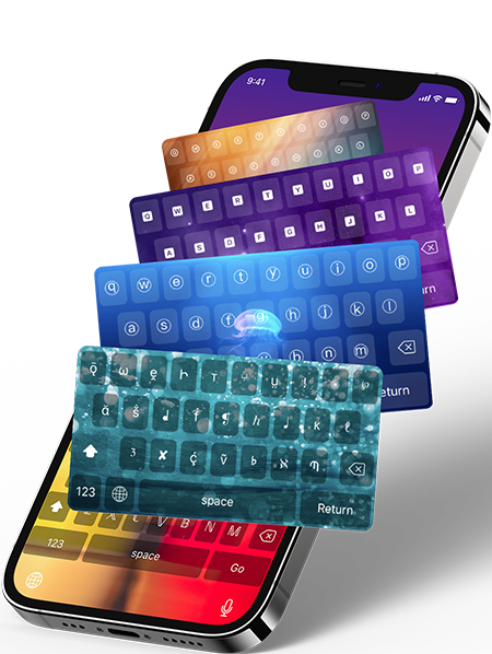 Fonts and Keyboard App for iPhone