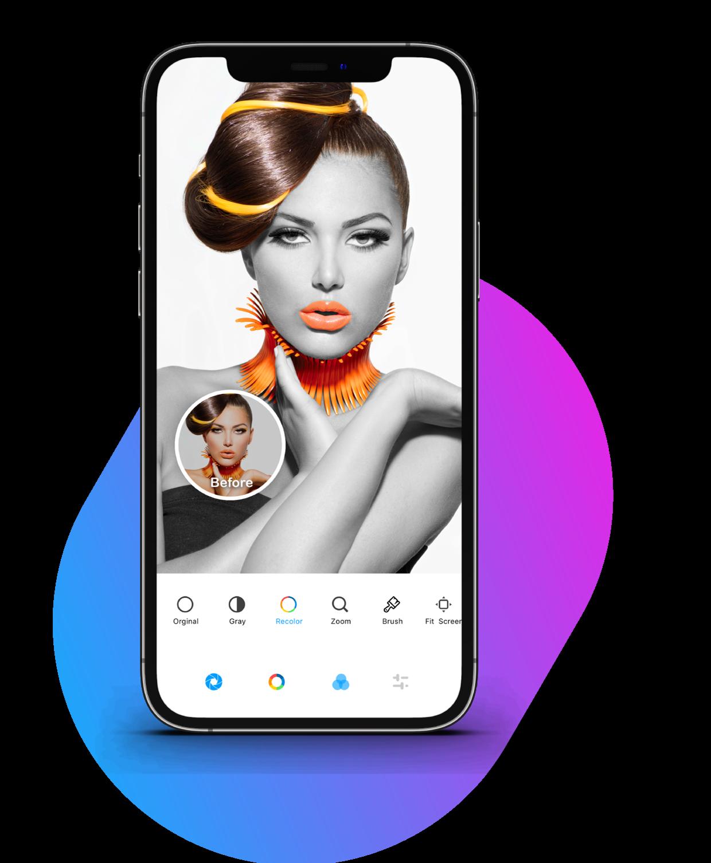 Photo Editor for iPhone & iPad Premium features: