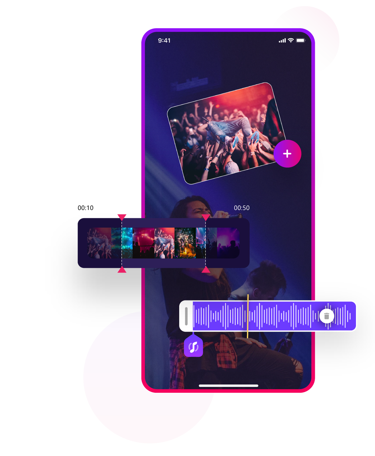 Audio and Video Mixing with Video Editor for iPhone & iPad