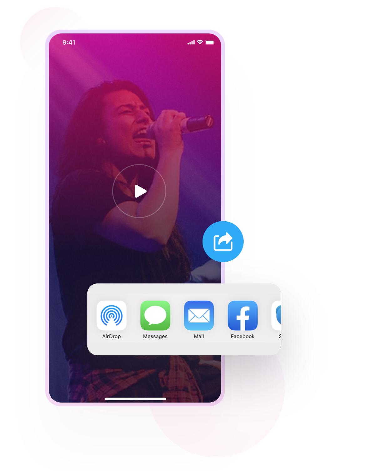 Instant capture and share with Video Editor for iPhone & iPad