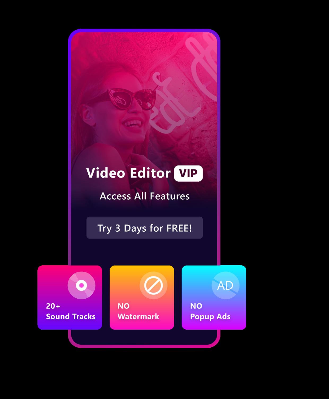 Video Editor for iPhone & iPad Premium Features