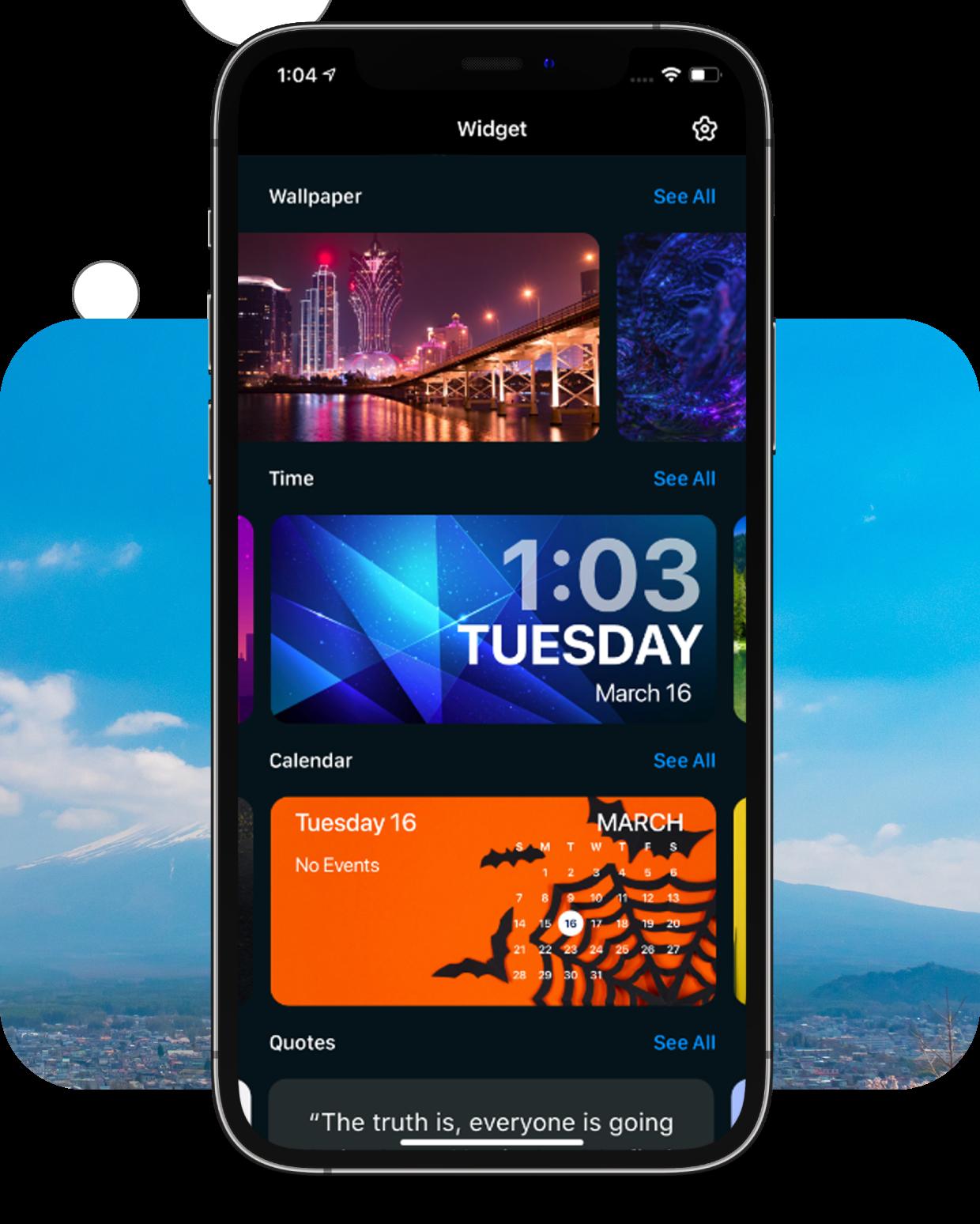Color Widget for iPhone Premium Features