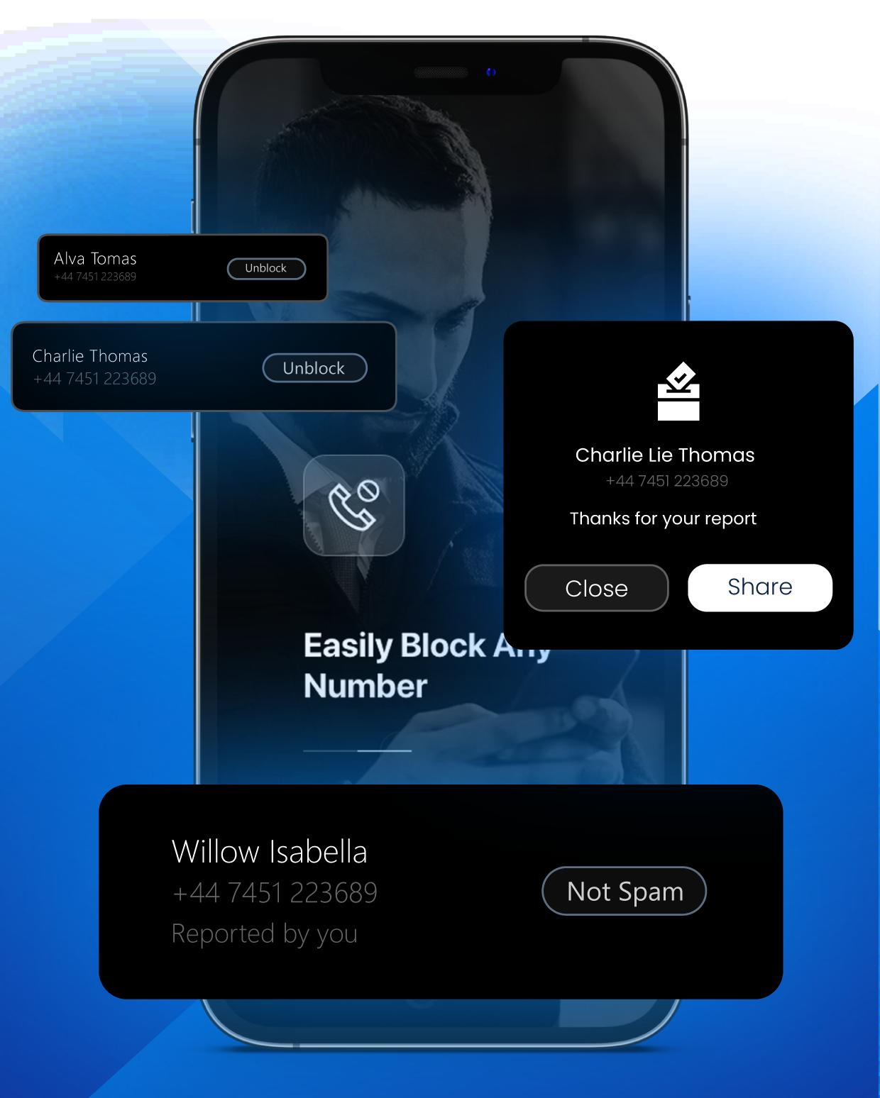 Call Blocker for iPhone Premium Features
