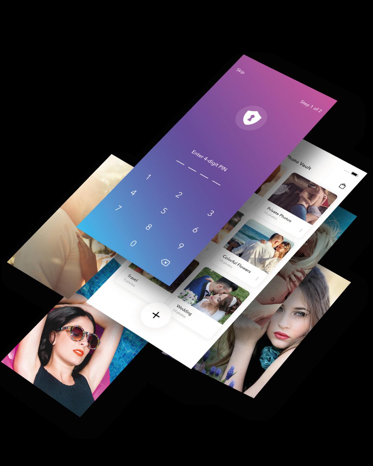 Photo Safe Vault – Private Pic iPhone App Premium Features