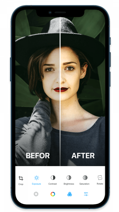 how to edit pictures with iPhone