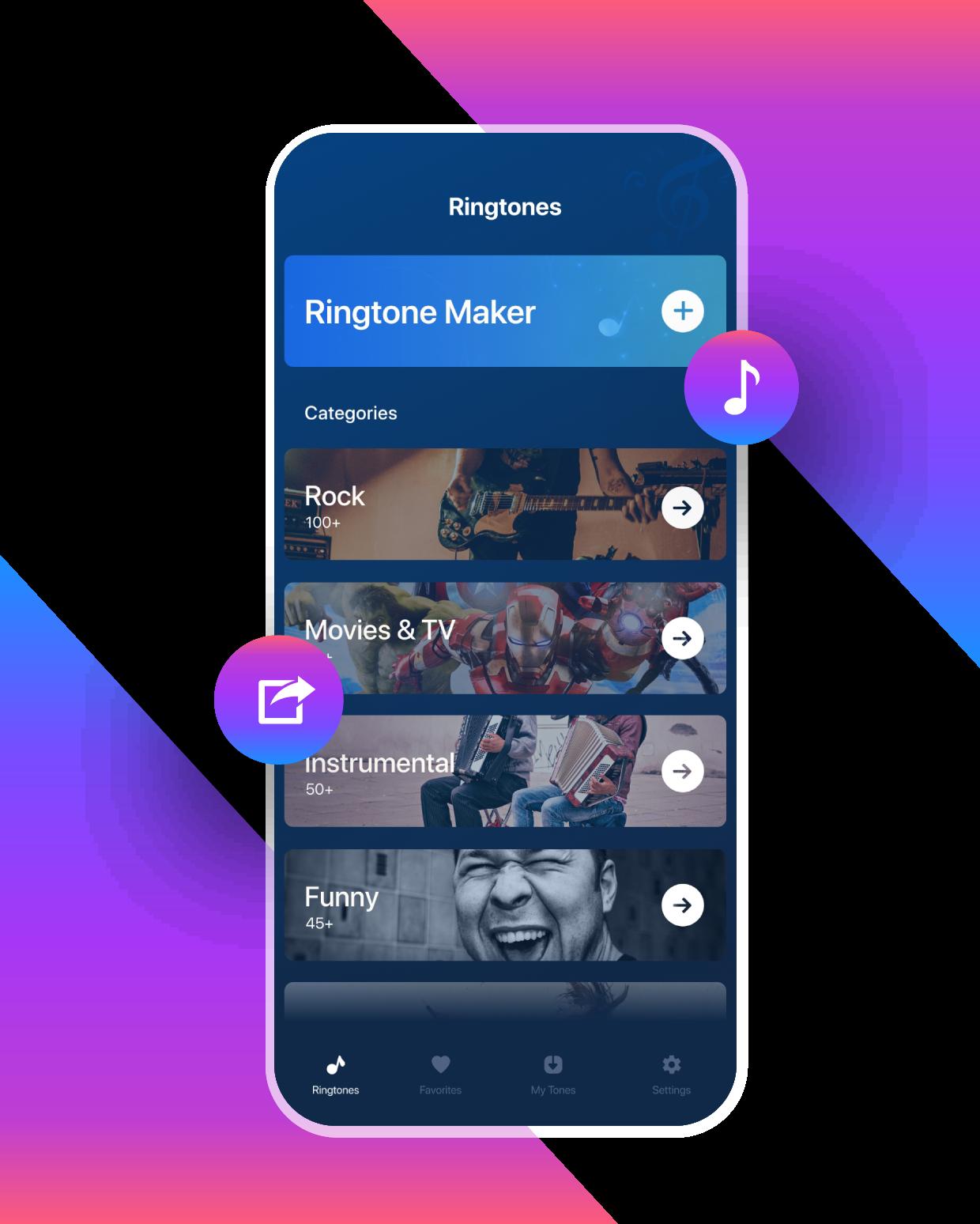 Ringtone Maker App Premium Features