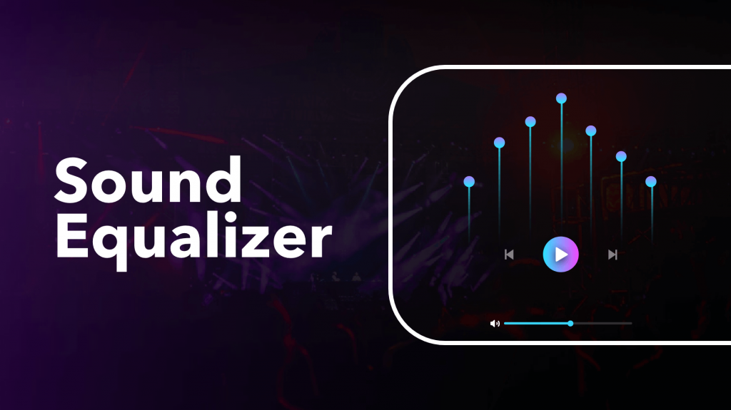 Integrated music Equalizer