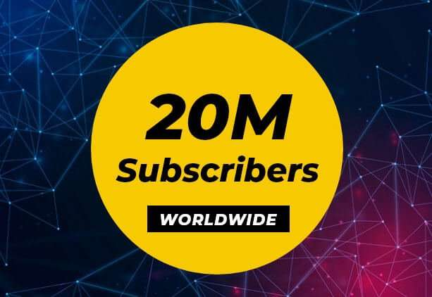 iOS app Publisher with 20M subscribers