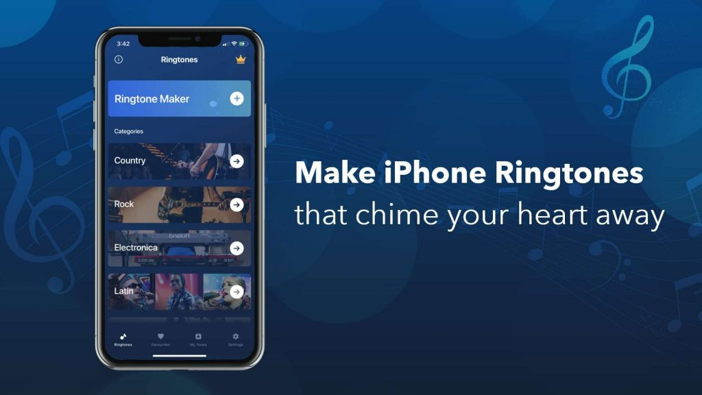 Make a ringtone of your choice with the best free ringtone maker for iPhone