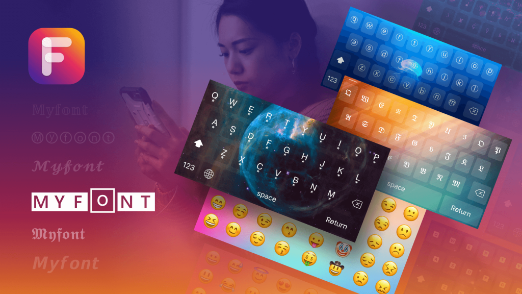 Fonts & Keyboard for iPhone: Best Font Changer and Emoji Keyboard for All Apps
