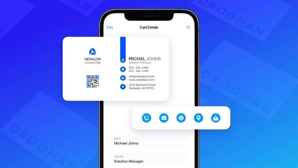Start scanning business cards