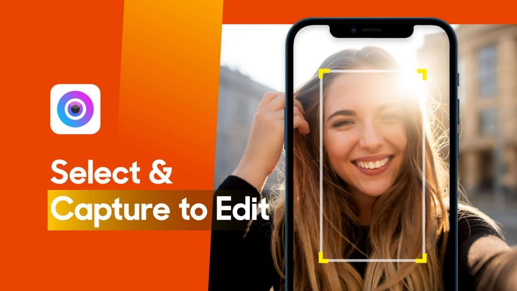 Select or capture image on iPhone