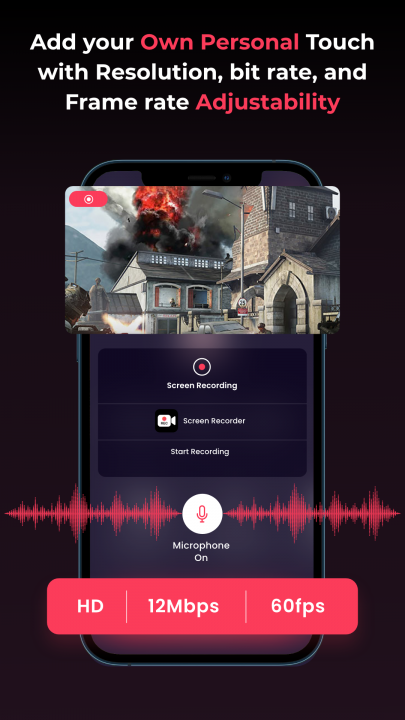Set the pace of your game recordings
