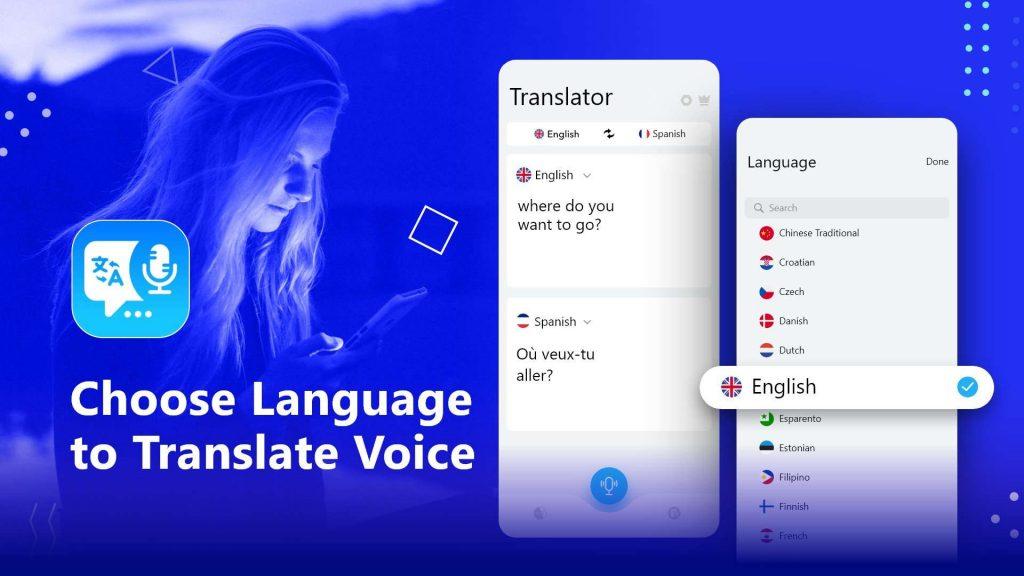choose language to convert