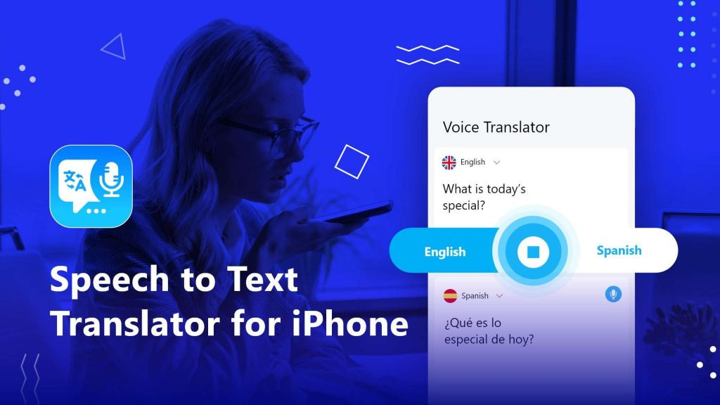 How to Convert Speech to Text with Translator for iPhone
