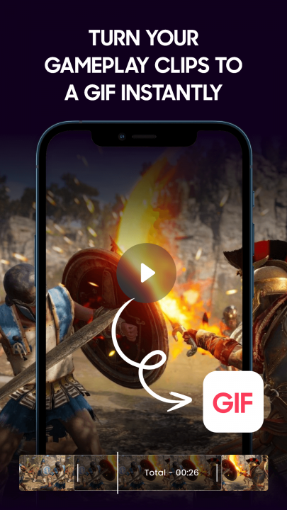 Turn gameplay into a gif