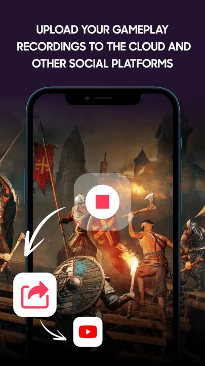 Upload gameplay recording globally