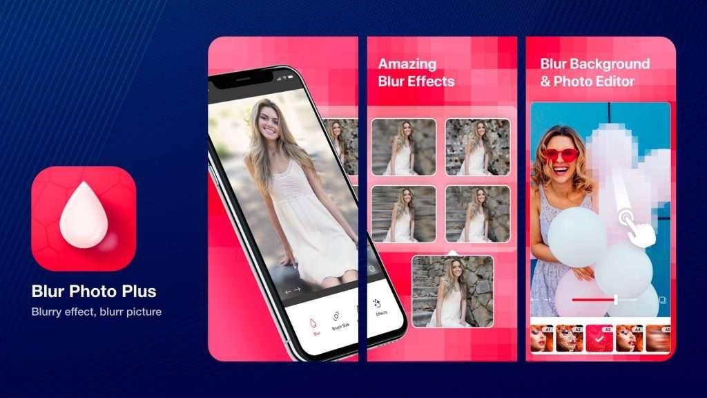 Blur Photo Plus app for iphone