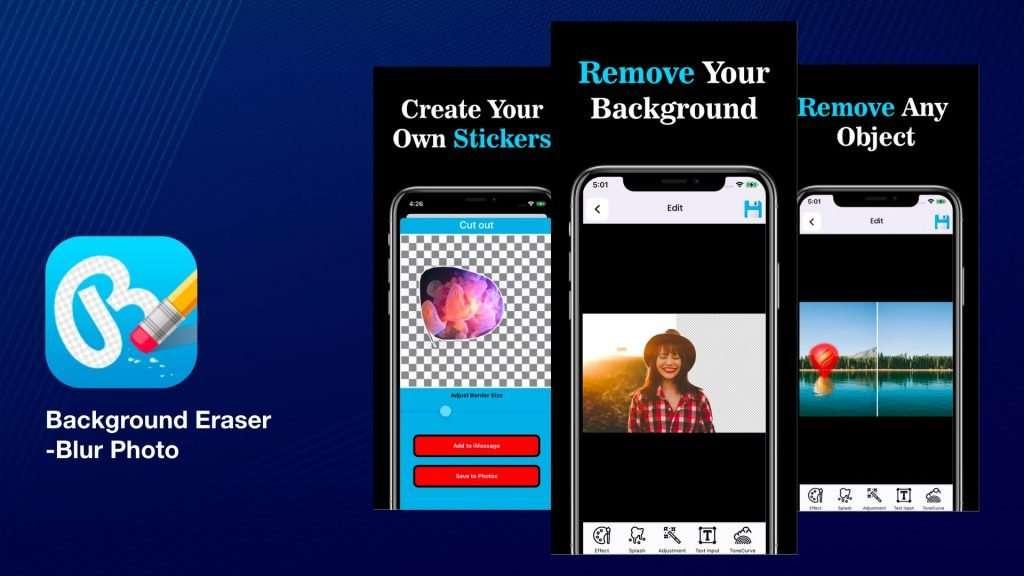 Background Eraser - Blur Photo Editor App