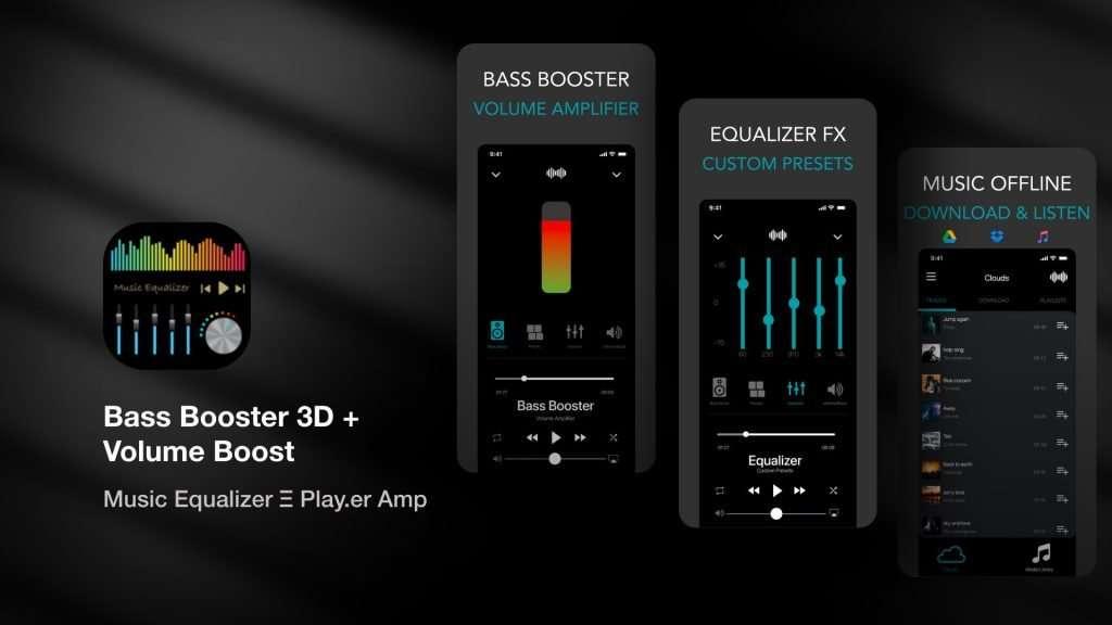 Bass Booster 3D Volume Boost