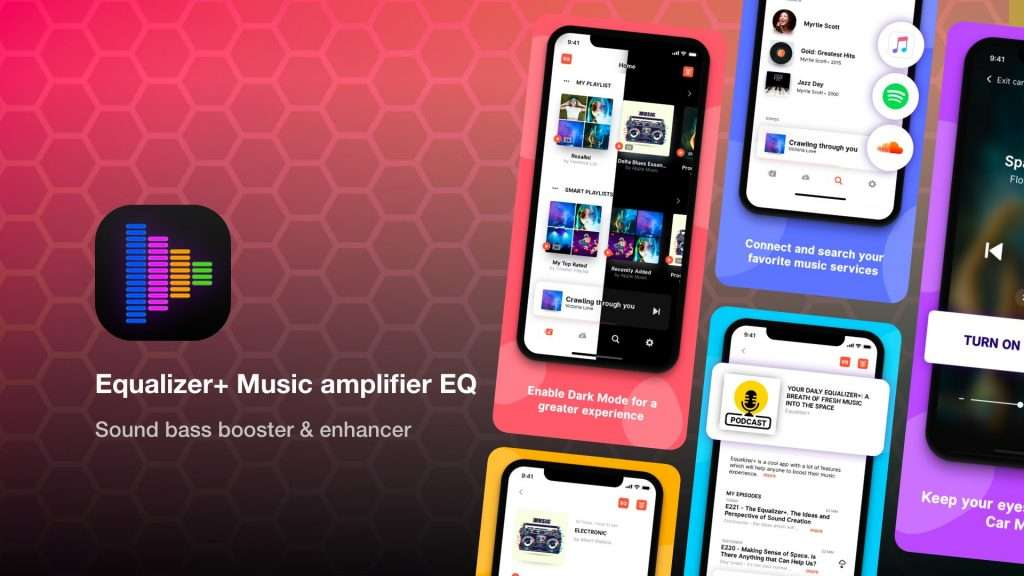 Equalizer Music amplifier EQ