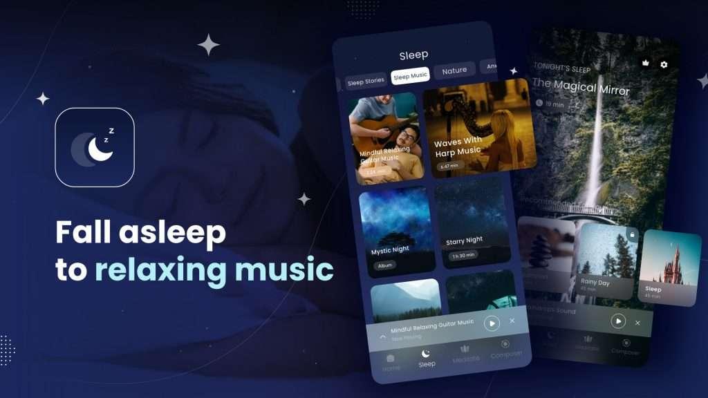 Fall asleep to deep relaxing music
