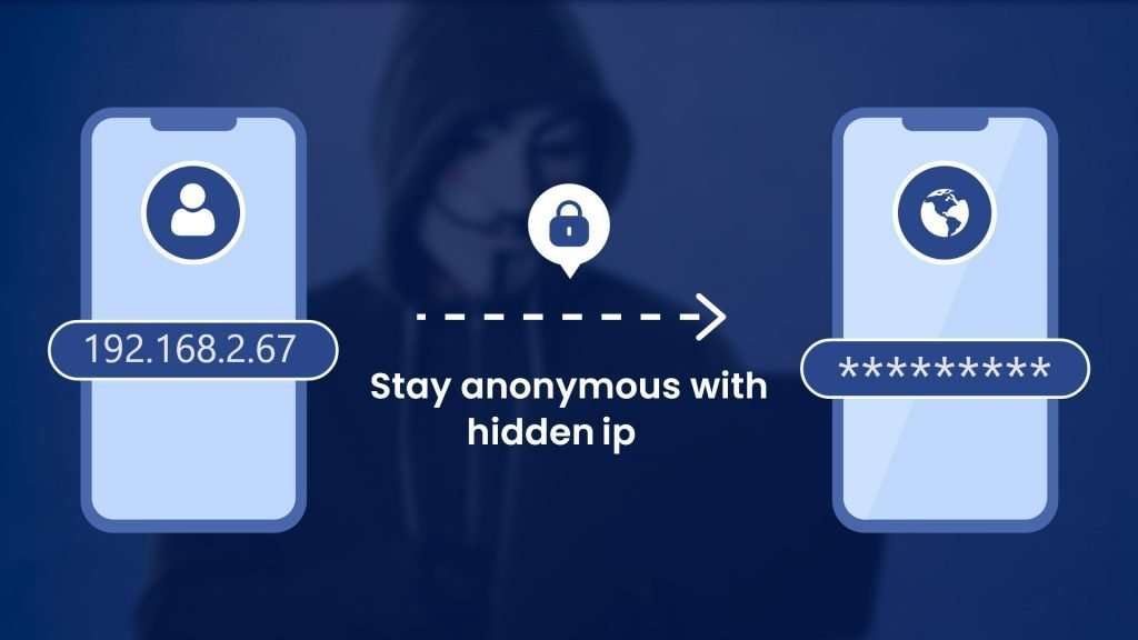 stay anonymous with hidden ip