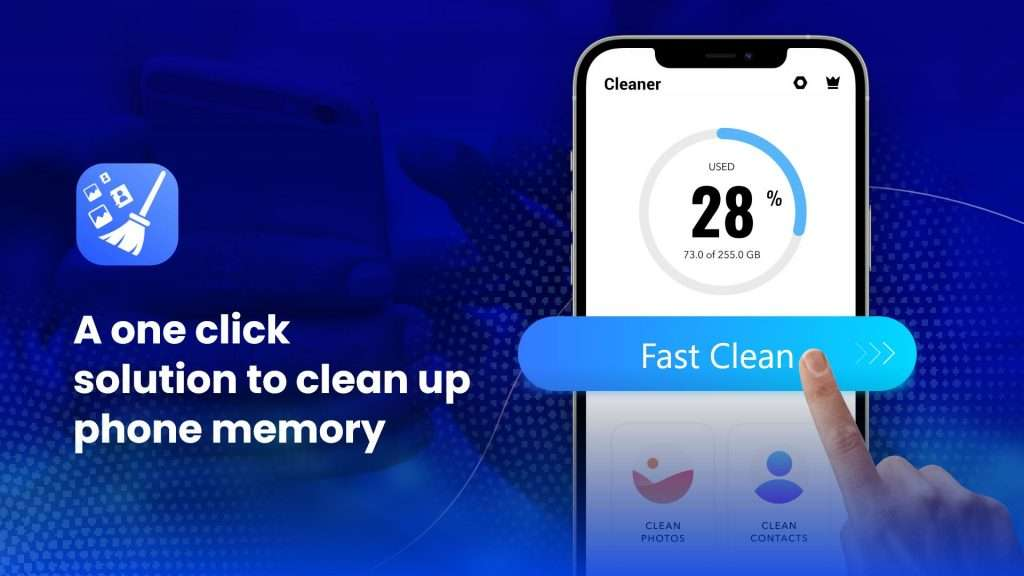 The fast cleaning option