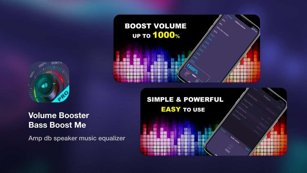 Volume Booster Bass Boost Me