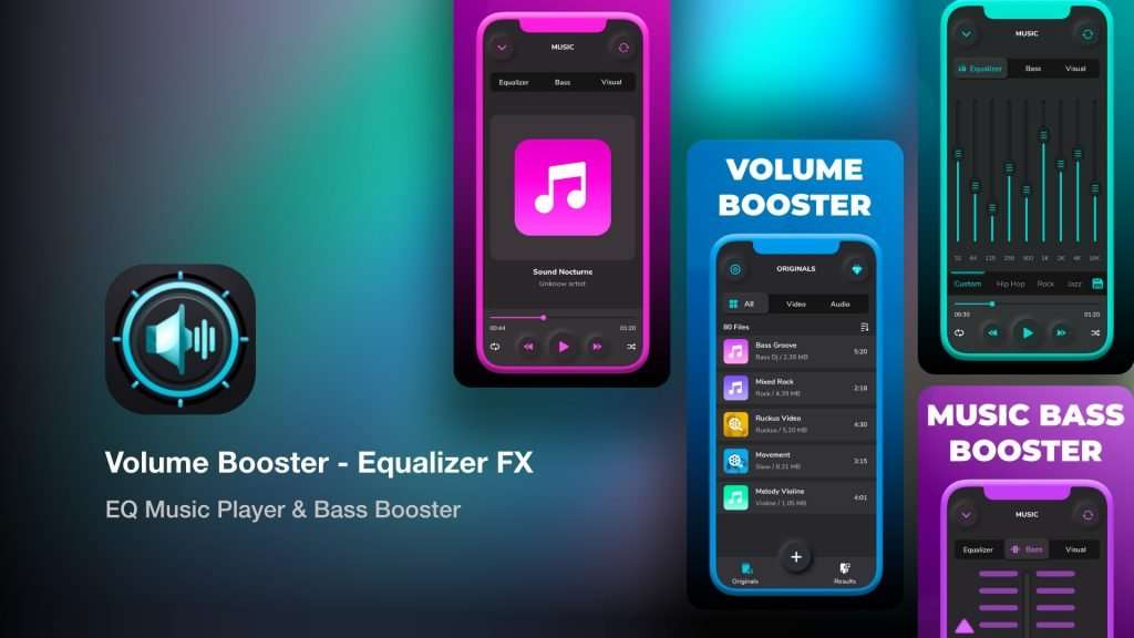 Volume Booster - Equalizer FX