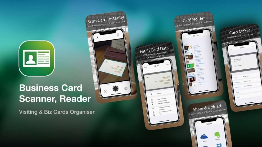 Business Card Scanner, Reader