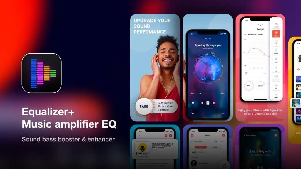 Equalizer+ Music amplifier EQ