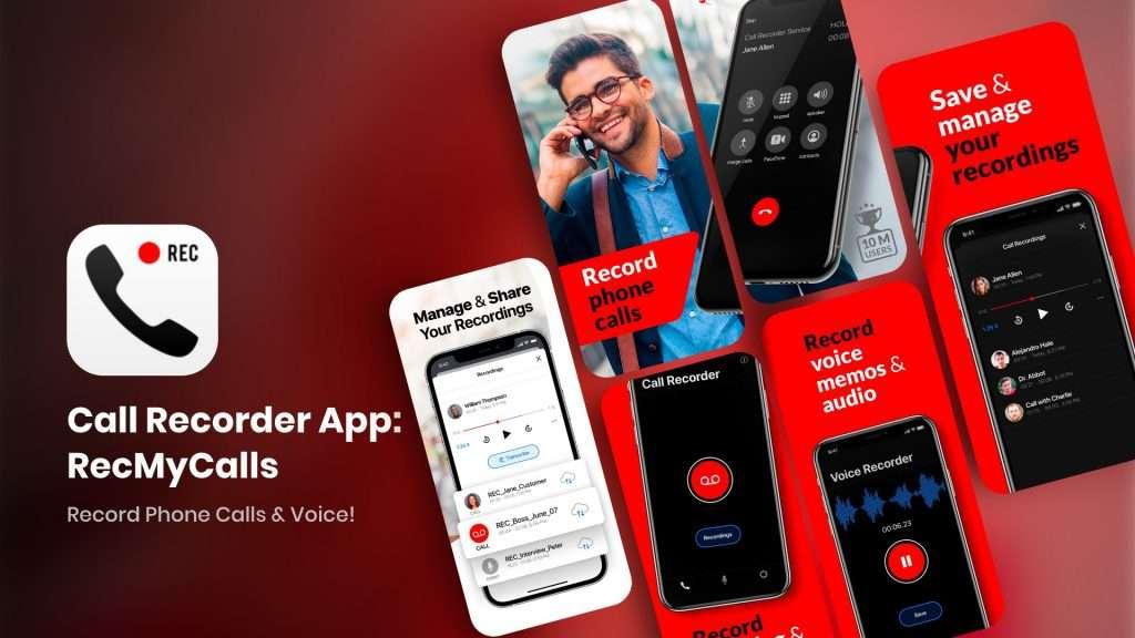 Call Recorder App RecMyCalls