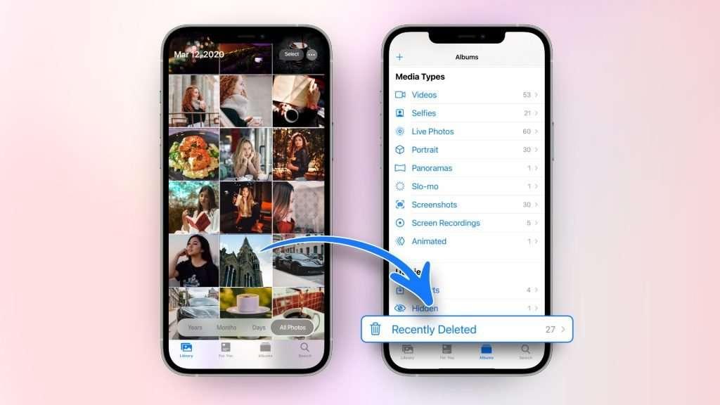 can you retrieve deleted photos