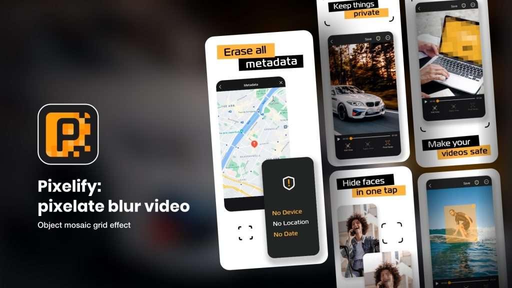 Pixelify – pixelate blur video