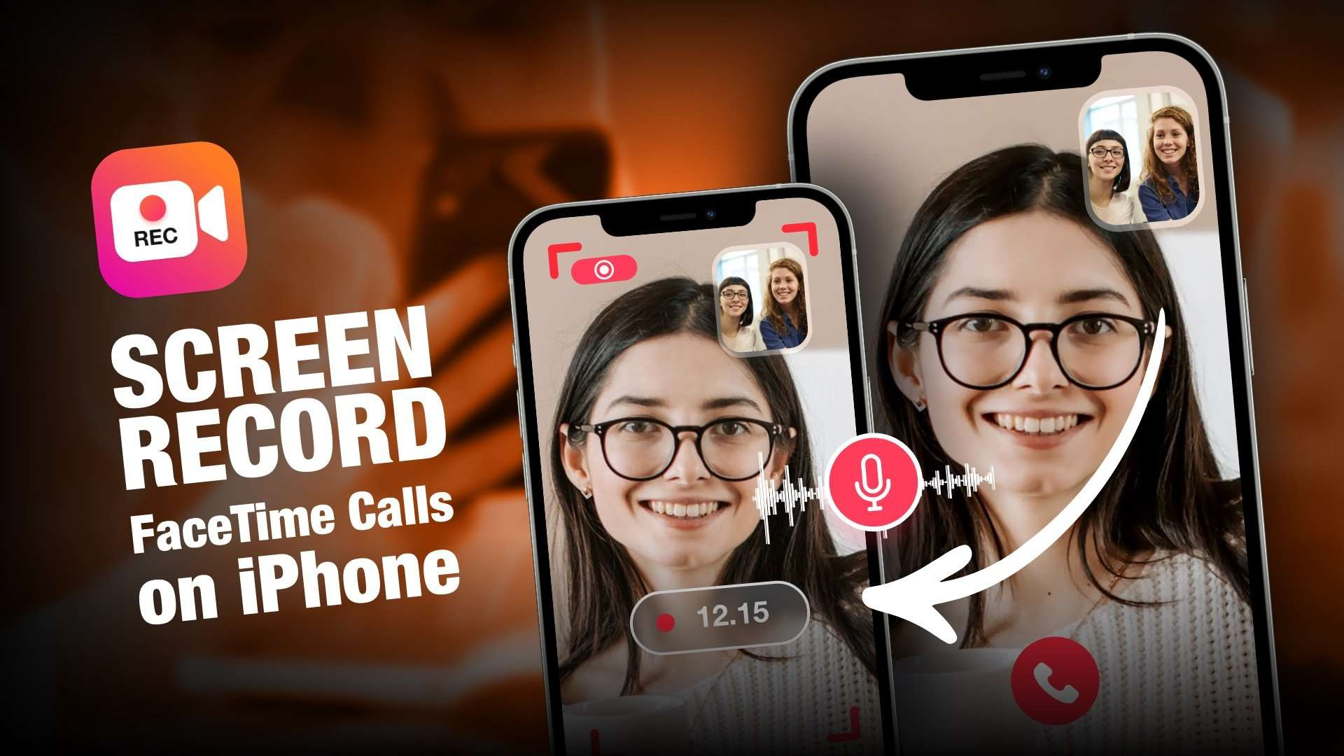 Screen Record FaceTime calls with sound on your iPhone
