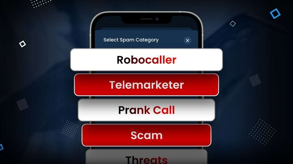 types of spam calls