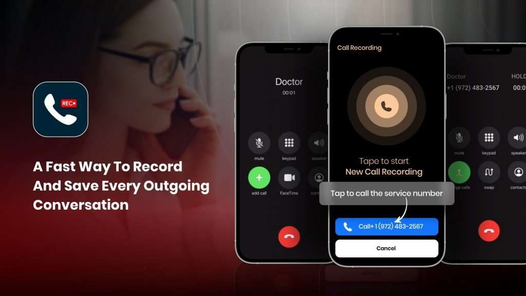 outgoing phone call