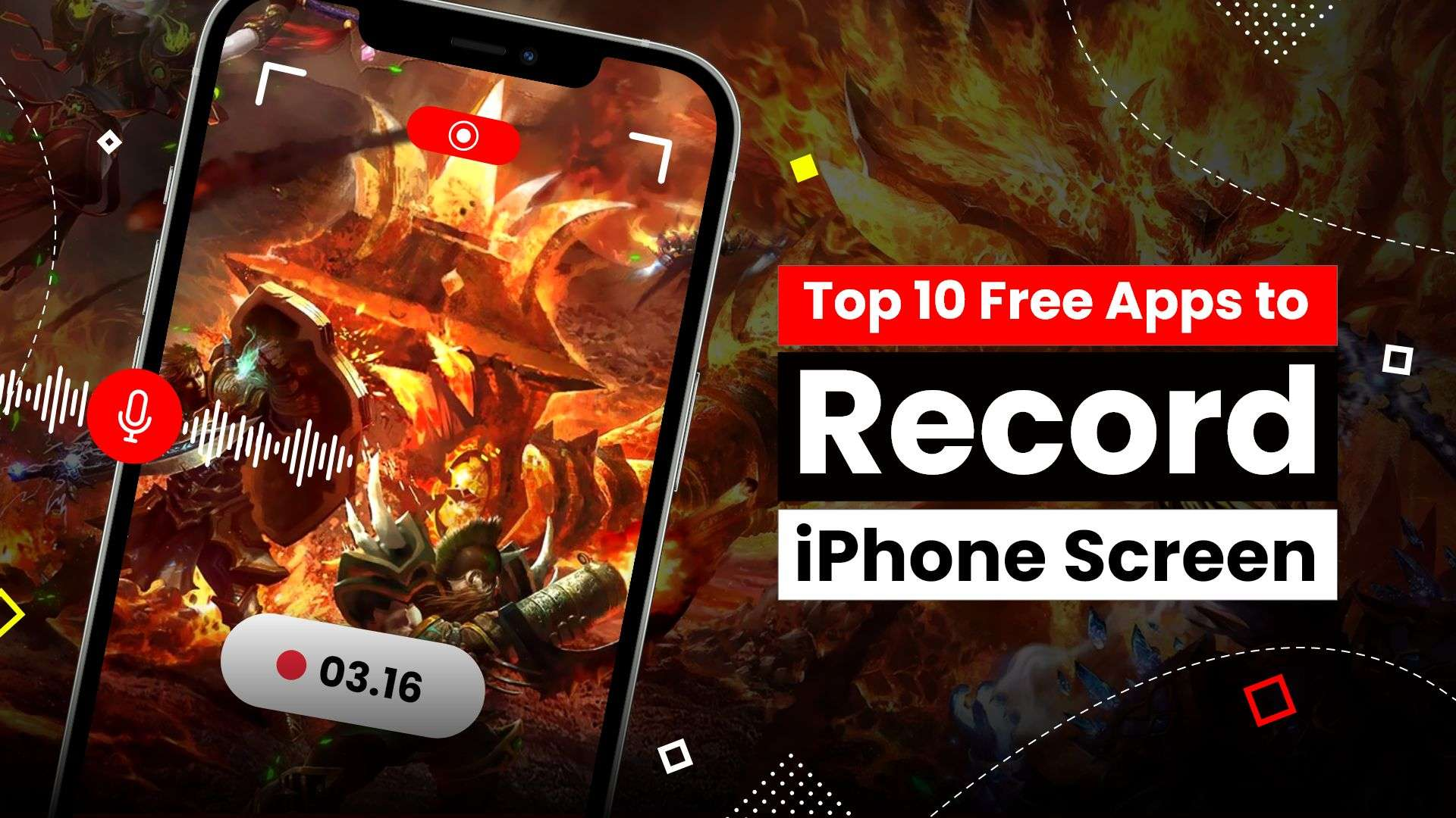 Apps to record iPhone screen