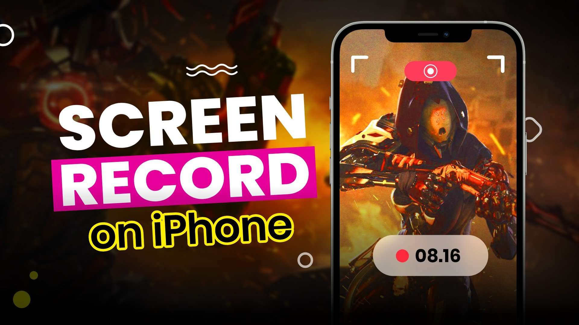 How to screen record on iPhone   record phone screen